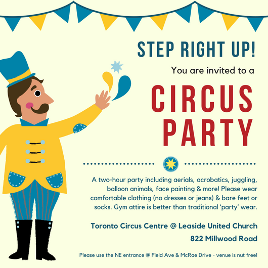 NEWClick Here To Download A Circus Party Invitation Image