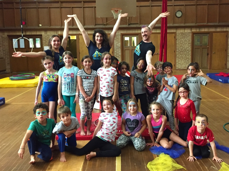 March Break Circus Camp, March 13th to 17th, Register now!